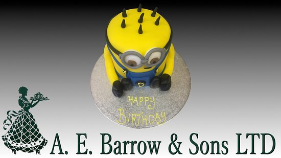 Minion Cake Picture of AE Barrow Sons Sittingbourne TripAdvisor