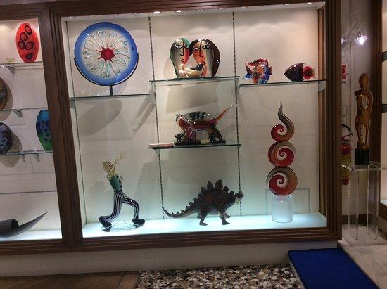 Vecchia Murano: Une vitrine