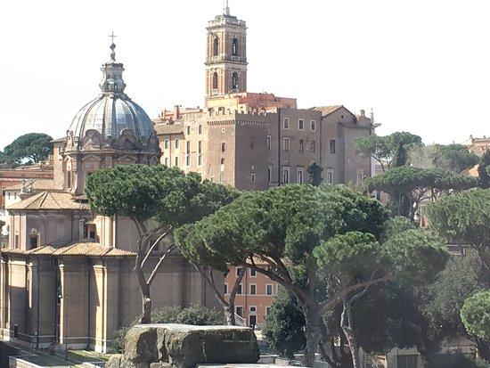 Vista Dal Terrazzo Campidoglio E Fori Picture Of