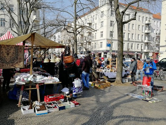 Sunday Market at Boxhagener Platz