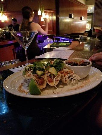 The Steakhouse: ahi tuna tacos
