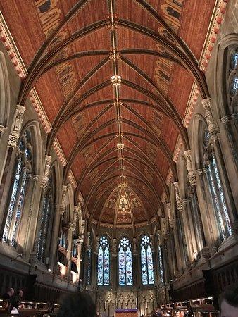 St. John's College: St John's College Chapel ceiling