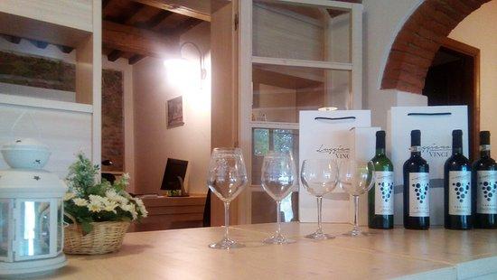 Vinci, Italy: Wine tasting