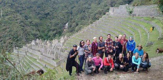 Pachamama Explorers: Winay Wayna ruins, Inca Trail