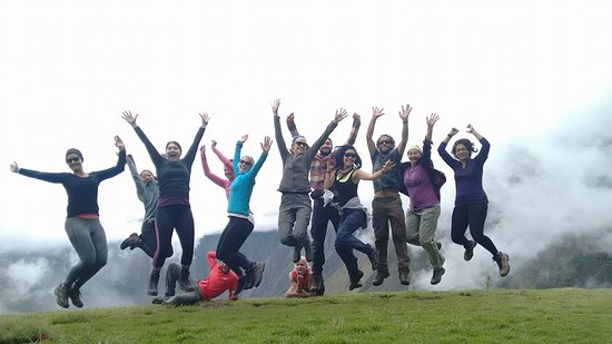 Pachamama Explorers: Jumping for Joy on the Inca Trail!