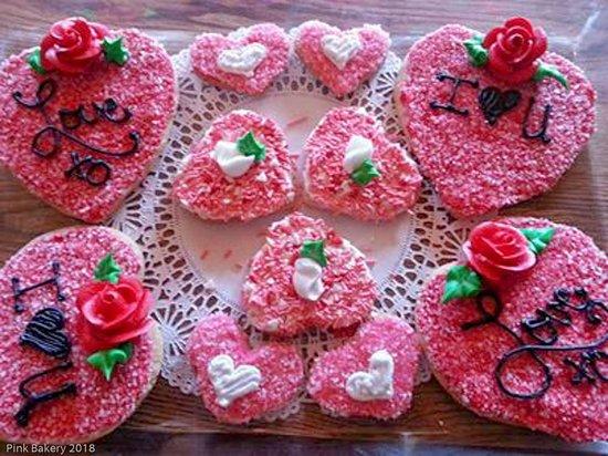 Egg Harbor, WI: Valentines cookies