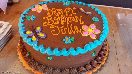 Egg Harbor, WI: Birthday cake
