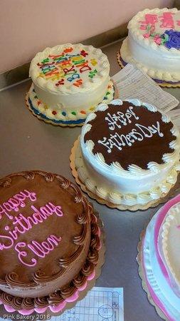 Egg Harbor, วิสคอนซิน: Birthday cakes