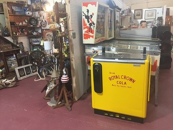 Royal Crown Cola Cooler - Picture of St  Joseph Auction