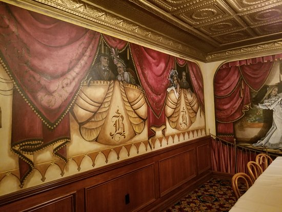 Abilene, Канзас: Hand-painted walls