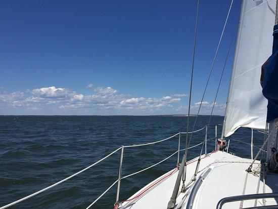 The Harvest Inn: Sailing the Peconic Bay