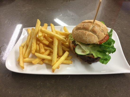 le burger frites maison