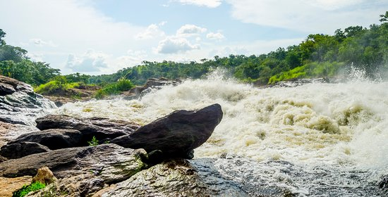 Entebbe, Uganda: Top of Murchison fall- Murchison falls National Park