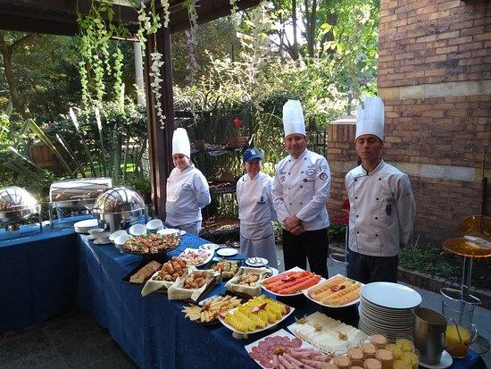101 Park House: Brigada de Cocina