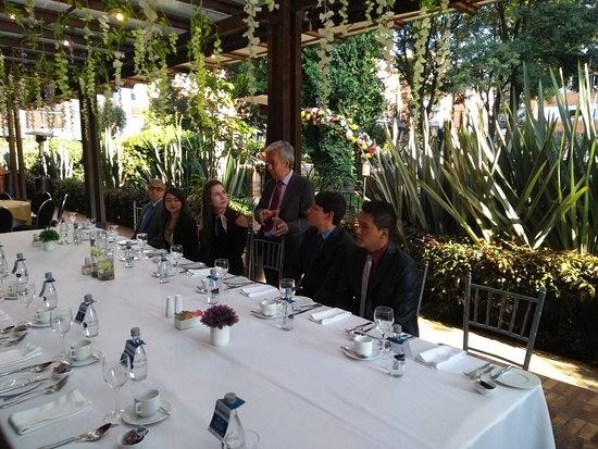 101 Park House: Evento de Etiqueta con Estudiantes de la Escuela de Gastronomía Mariano Moreno