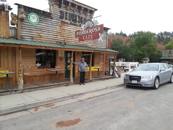 Hulett, WY: Ponderosa Cafe