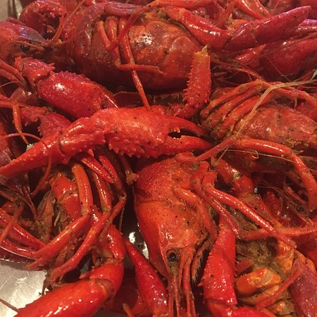 Abbeville, LA: Their second season serving boiled crawfish