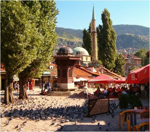 Podgorica to Sarajevo taxi transfer with the best transfer services www.pg-taxi.me