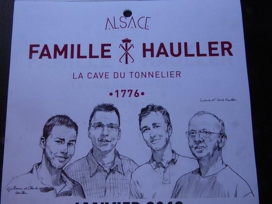 Famille Hauller - La Cave du Tonnelier