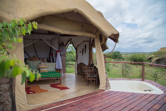 Amani Mara Camp: Beautiful rooms!
