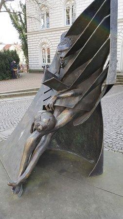 "Skulptur ""Lecture"""