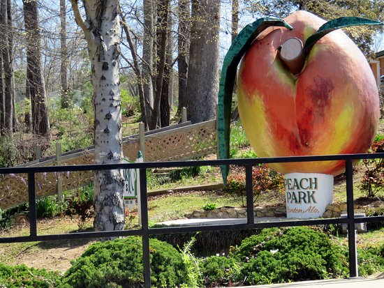 Peach Park : the big peach