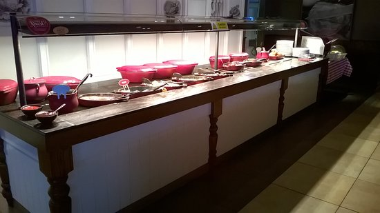 Toby Carvery - Speke Boulevard: Breakfast buffet counter - spoilt for choice