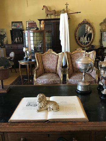 Willowmore, South Africa: Part of the antique shop