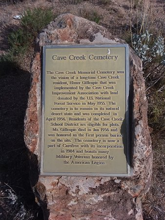 Cave Creek, AZ: Historic Info.