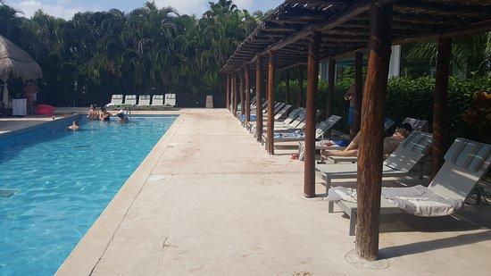Grand Riviera Princess All Suites Resort & Spa: Private pool area at Platinum