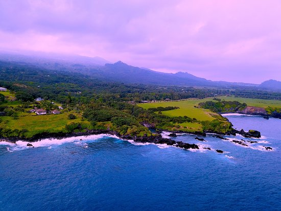Kihei, HI: The Hana coast line.