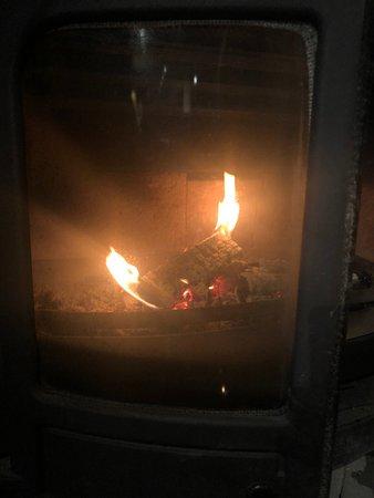 Strath Tummel, UK: real fire