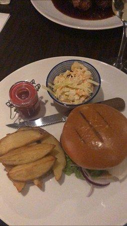 Strath Tummel, UK: chips were fab!