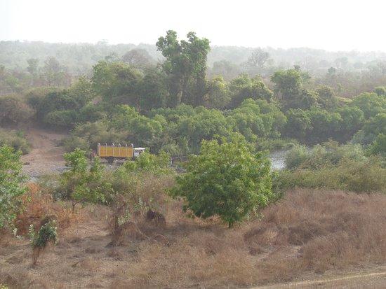 Kedougou, Senegal: vista desde el comedor