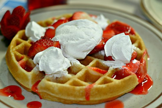Plymouth, IN: Strawberry Waffle