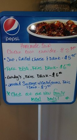 Crozet, VA: Check our specials board to see what we have cooking!