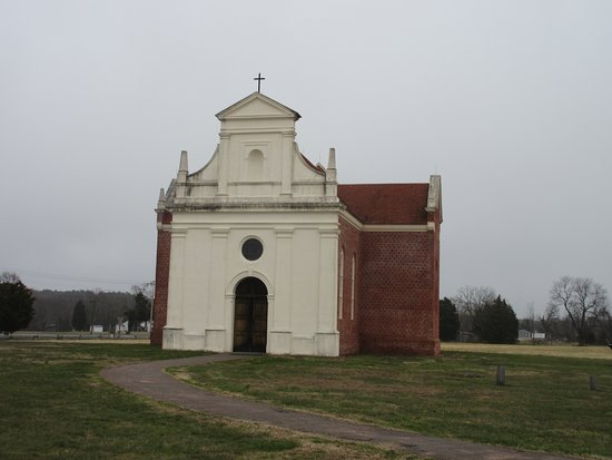 Historic St. Mary's City: The old chapel