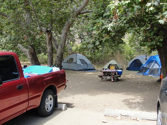 Sycamore canyon campground fees with hookups