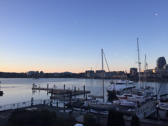 Inner Harbour from Blue Crab Seafood House
