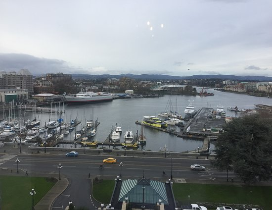 Inner Harbour from The Empress