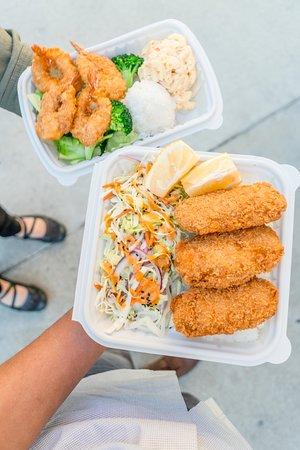 Huntington Park, CA: Ono Hawiaian BBQ Seafood Plates