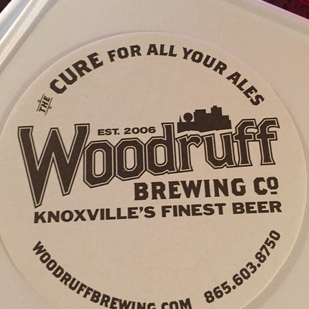 Downtown Grill & Brewery: Woodruff Brewing Company