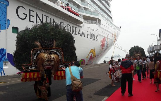 Gerokgak, Indonesia: genting cruise