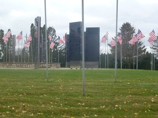 The Avenue of 444 Flags: View At End Of Avenue