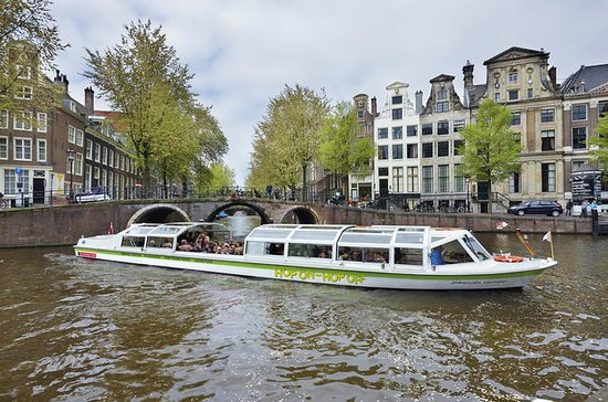 Amsterdam hop-on hop-off boottour met ...