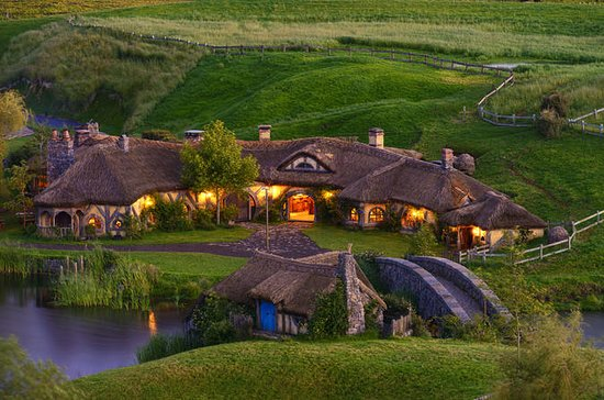 'The Lord of the Rings' Hobbiton...