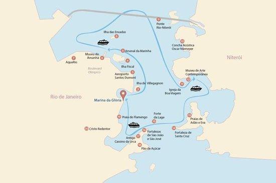 Guanabara Bay Catamaran Tour fra Rio