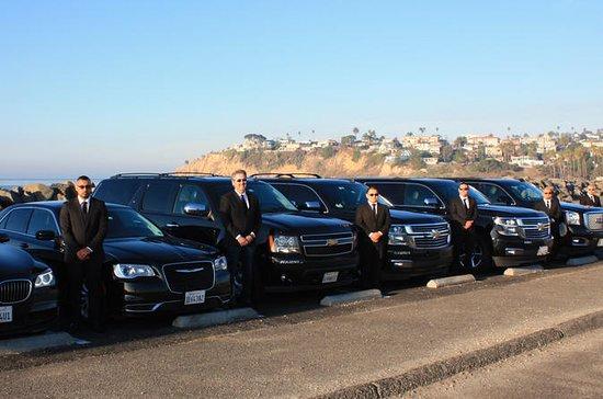 Santa Barbara Private Airport SUV...