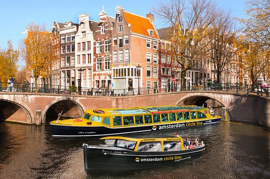 Amsterdam: Hop-On Hop-Off Boat Cruise