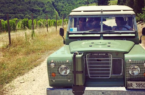 Off-Road Tuscan Wine Tour from Greve...